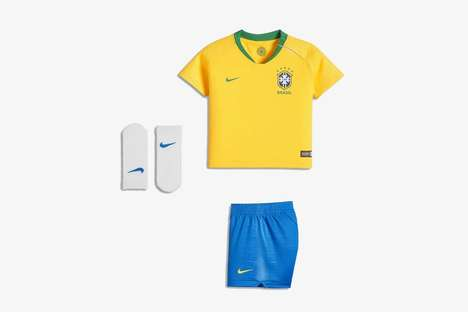 Colorful Kids Soccer Kits