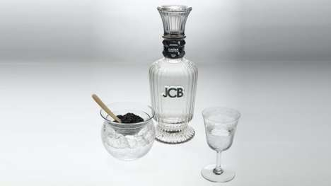 Caviar-Infused Vodkas