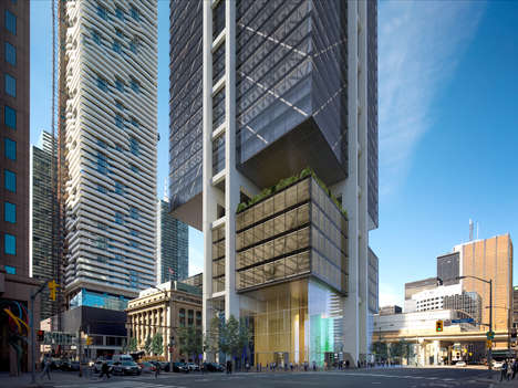 Hovering Skyscraper Designs