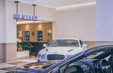 Iconic Vehicle Showrooms