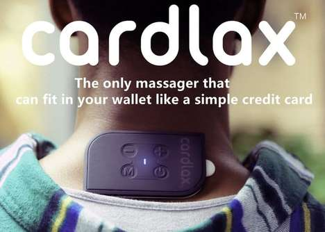 Card-Sized EMS Massagers