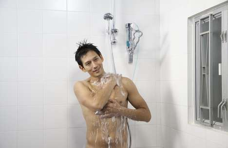 Soap-Infusing Shower Systems - The 'bödysöf-WASH' Shower System Saves Water and Speeds up Washing