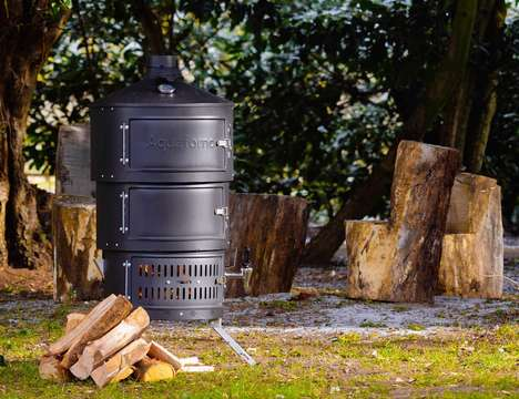Multi-Fuel Outdoor Cookers