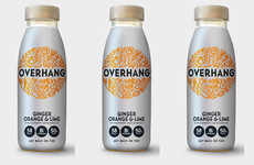 Revamped Hangover Cure Branding - The Overhang Drink Has Been Repackaged to Focus on Lifestyle