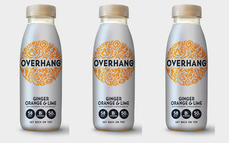 Revamped Hangover Cure Branding