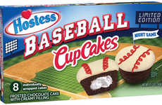 Sport-Celebrating Snack Cakes - The Hostess Baseball CupCakes are Back to Celebrate MLB Season