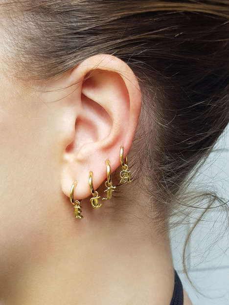 Customizable Hoop Earrings