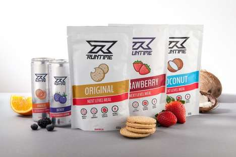 eSports-Focused Foods - Runtime is a eSports Nutrition Company That Supports Peak Player Performance