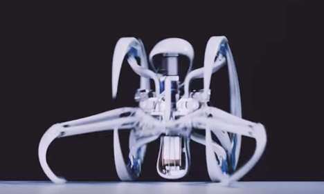 Spider-Inspired Robots