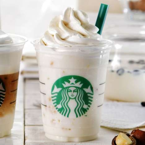 All-White Coffee Beverages