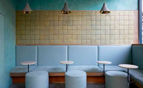 Quiet Contemporary Restaurant Designs