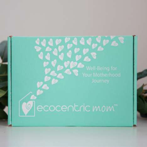 Monthly Motherhood Care Packages - Ecocentric Mom Offers a Subscription Service for New Moms