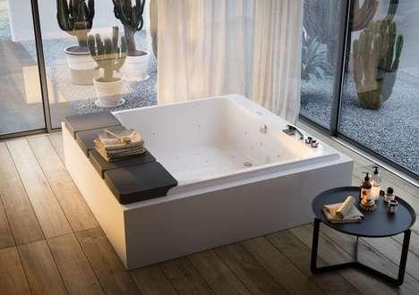 Skin-Enriching Massaging Bathtubs