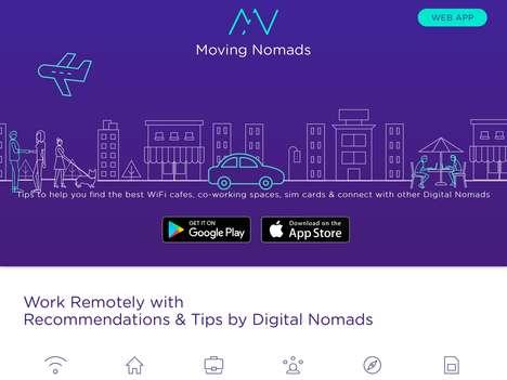 Digital Nomad Tip Platforms