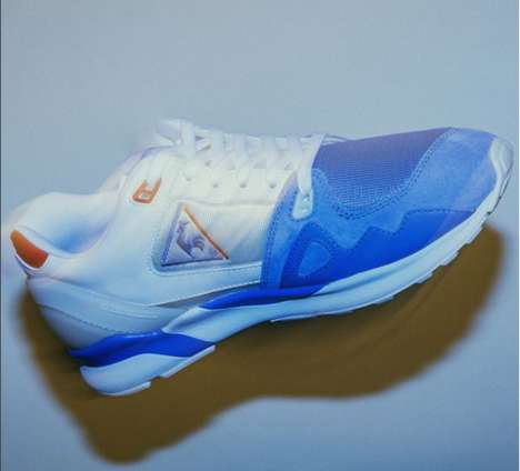 French Tricolor Sneakers