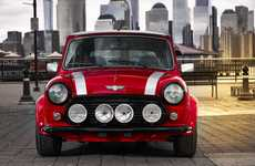 Classic Miniature Electric Cars - The Classic Mini Electric is a Proof of Concept for New Projects