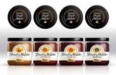Maple-Infused Fruit Spreads - The Polaner Fruit & Maple Spreads are Premium and Deliciously Sweet