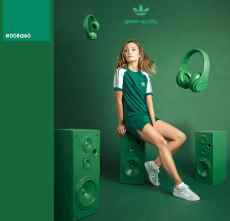 Social Media-Inspired Marketing Techniques - Three Creatives Collaborated on an adidas Ad Campaign