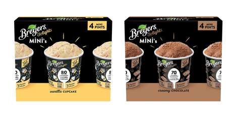 Single-Serve Low-Fat Desserts - The New Breyers Delights Minis Offer a Healthier Way to Indulge
