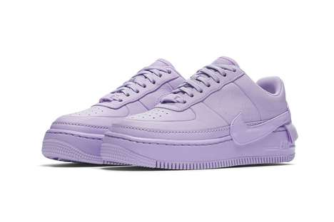 Soft Violet Sneaker Colorways