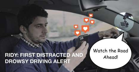 Distracted Driving Alert Boxes