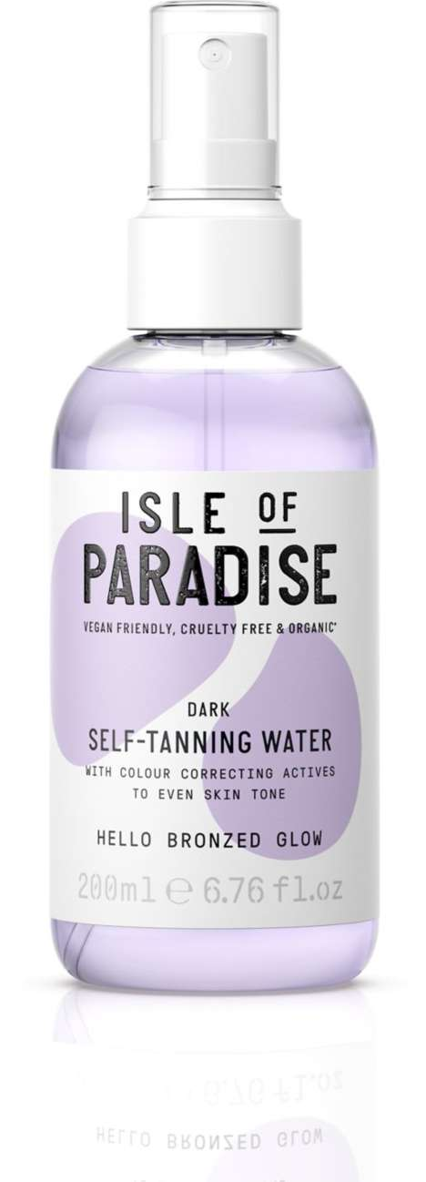 Self-Tanning Water Sprays - Isle of Paradise's Sunless Tanner is Cruelty-Free, Vegan and Organic