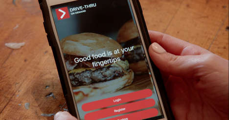 On-Demand Drive-Thru Apps - The 'Drive-Thru On Demand' App Aims to Make Every Eatery a Drive-Thru