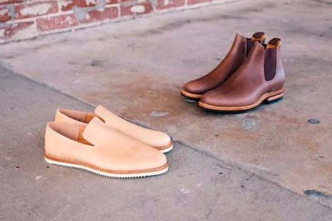 Luxe Kangaroo Leather Footwear