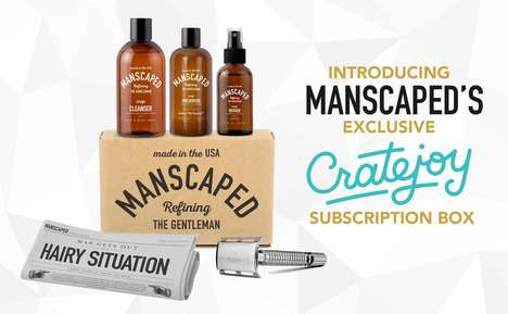Intimate Grooming Subscriptions - Manscaped Launched a Monthly Box for Cratejoy's Marketplace