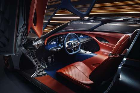 3D-Printed Automotive Interiors