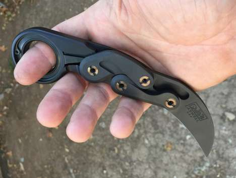 Finger-Protecting Utility Knives