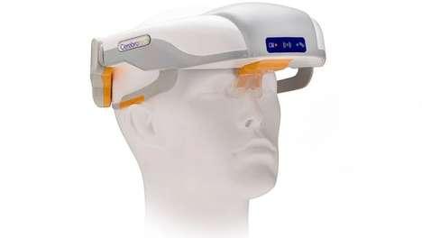 Stroke-Detecting Visors