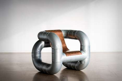 Industrial Piping Furniture