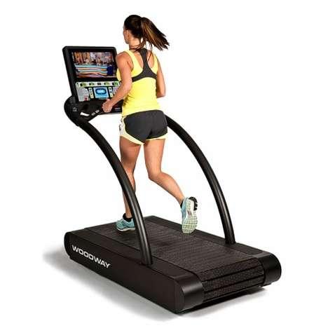 Trail-Mimicking Treadmills
