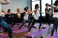 Retail-branded Yoga Spaces