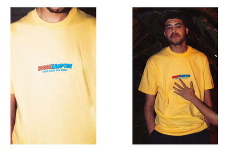 Colorful Slogan-Heavy Merchandise