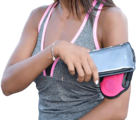 Magnetic Athletic Armbands