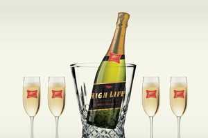 Conceptual Beer Brand Champagnes