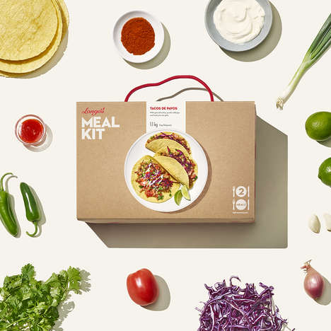 Oversized Typography Meal Branding