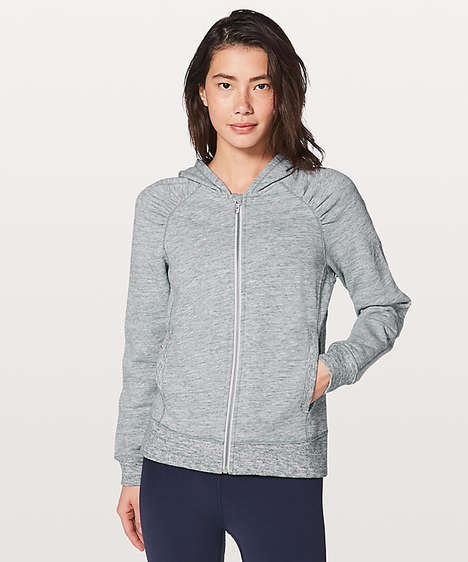 Odor-Reducing Athletic Jackets