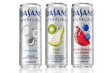 Artisan-Inspired Sparkling Waters - The New DASANI Sparkling Flavors are Clean and Crisp