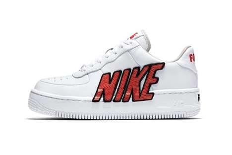 Sequin-Adorned Sneakers