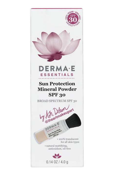 Protective Oil-Absorbing Face Powders