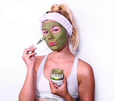 Detoxifying Matcha Masks