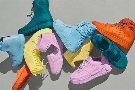 Striking Tonal Sneakers