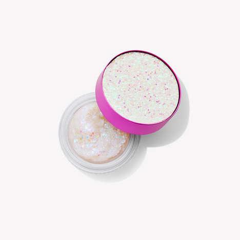 Glittery Cosmetic Gels