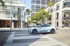 Self-Driving Electric SUVs - Jaguar and Waymo are Teaming Up to Produce Premium Self-Driving SUVs