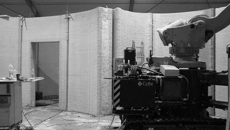 3D-Printed Concrete Houses