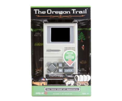 Nostalgic Handheld Games - The 'Oregon Trail' Game Brings a 1970s Classic Back to Life