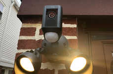 Floodlit Home Security Cameras